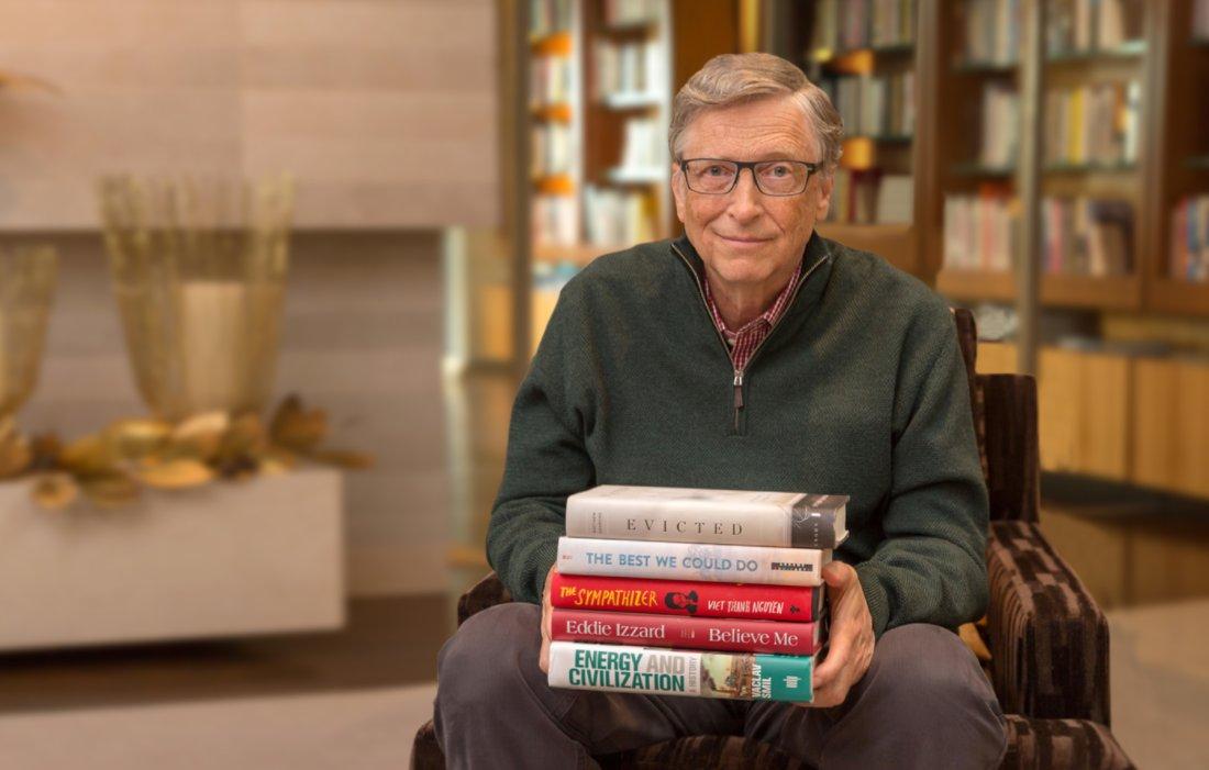 Libros Bill Gates 2017
