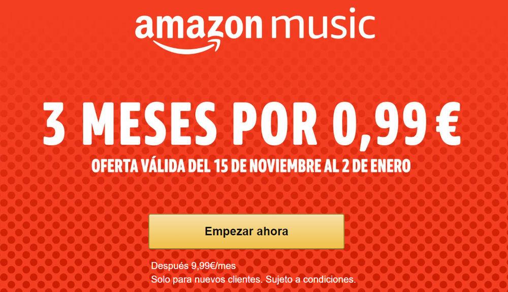 Amazon Music Unlimited gratis oferta